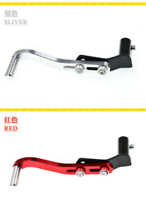 Motorcycle Modified Gear Shift Shifter Lever Adjustable Kick Starter Black + Red