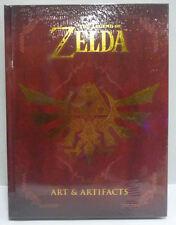 ARTBOOK THE LEGEND OF ZELDA ART AND ARTIFACTS RARE