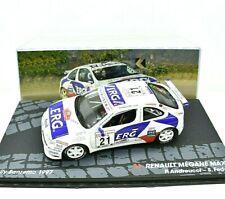 Modellino auto RENAULT MEGANE rally rallye IXO SCALA 1/43 DIECAST collezione