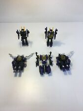 Lot of 5 Transformers G1 Insecticons-Takara, Hasbro-Parts Sale