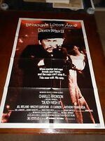 DEATH WISH II (1982) CHARLES BRONSON ORIGINAL ONE SHEET POSTER