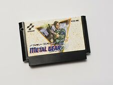 Famicom Metal Gear JJapan FC game US Seller