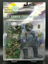 "1:6 Ultimate Soldier US Armor Crew Member Carded Uniform Set 12"" Action Figure"
