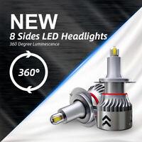 KIT LED 3D Canbus 360 Degree Luminescence 8 Sides LED Headlights H7 1904 LED