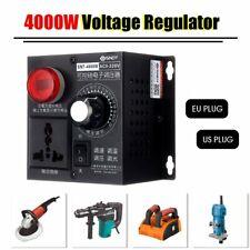 AC 220V Voltage Regulator Thyristor 4000W Electronic Variable Speed Controller