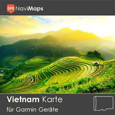 Topo Karte Vietnam Garmin Edge GPSMap Etrex Nüvi Astro Oregon Dakota Montana