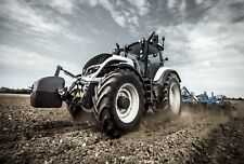 A3 Valtra Porsche Design Tractor Agriculture Poster Picture Brochure Art Print