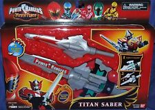 "Power Rangers Mystic Force TITAN SABER New Electronic 14"" Factory Sealed 2006"