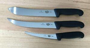 Victorinox 3 Piece Knife Set 5.6603.15 - 5.7203.25 & 5.7403.25 Butcher FREE POST