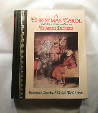 Classic Christmas Stories by Charles Dickens Illustrated by Arthur Crackham