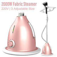 2 L Hanging Travel Iron Clothes Steamer Garment Steam Brush Hand Held 2000W