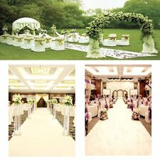 White Carpet Wedding Aisle Floor Runner Hollywood Awards Party Decoration 10X1m
