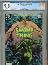1985 DC SAGA OF THE SWAMP THING #38 LAST ISSUE IN TITLE CONSTANTINE CGC 9.8 BX12