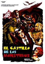EL CASTILLO DE LOS MONSTRUOS (DVD PRECINTADO) TERROR DE CULTO