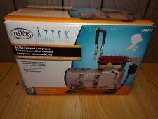 TESTORS AZTEK AIRBRUSH System AIR COMPRESSOR AC100 Hobby Model Paint 50201A New