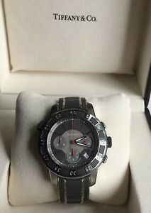 Tiffany & Co. Mark T-57 COSC Chronometer automatic Swiss Men's Chronograph Watch