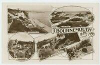 Bournemouth Multiview, Dorset Dearden & Wade 103 RP Postcard, C007