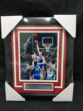 David Thompson & Tommy Burleson NC State Signed 8x10 Photo FRAMED Autograph COA