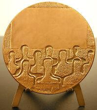 Medaille le cinéma film sc Bérechel 68 mm 1977 medal