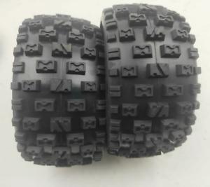 Knobby-Reifen-Hautset hinten für 1/5 hpi Rovan Km Baja 5b Rc Autoteile