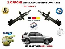 FOR KIA SPORTAGE 2.0 2.7 2004-> 2x FRONT LEFT + RIGHT SHOCK ABSORBER SHOCKER SET