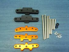 NITRO 1/10 RC TRUGGY HPI BULLET 3.0 SUSPENSION ARM HOLDER SET WITH PINS NEW
