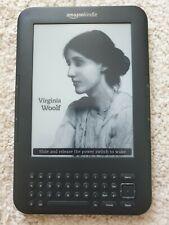 Amazon Kindle Keyboard 3rd gen. 6 inch E-book reader Wi-Fi & 3G D00901