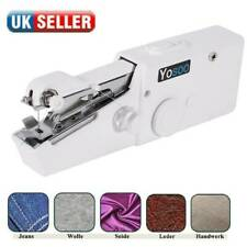 Portable Handheld Cordless Mini Sewing Machine Hand Held Stitch Home Clothes Sew