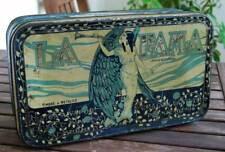 Antigua caja de lata Dulce y Jalea de Membrillo La Fama