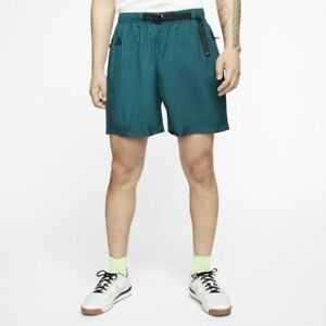 Nike Men's ACG Woven Belted Shorts Midnight Turquoise Sz XXL CT2952-347