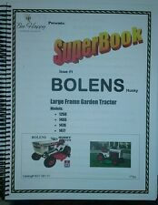 Bolens 1250 1455 1476 1477 HT-20 1886 Owner Service Parts (18 Manual) Tractor 23