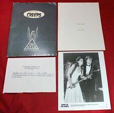 1986 Night of The Creeps Movie Press Kit Book - Horror - Vintage