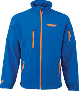 Fly Racing Adult Wind-D Jacket Blue Coat MD Medium