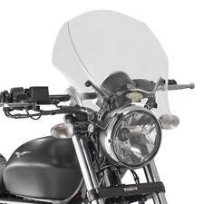 GIVI 140A+AL8202A CUPOLINO SPOILER PLEXIGLASS X MOTO GUZZI V9 ROAMER / V9 BOBBER