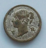 GREAT BRITAIN MODEL 1/2 PENNY 1848 VICTORIA   #gw 581