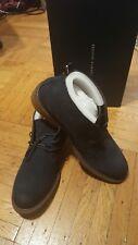 Tommy Hilfiger Dark Blue Suede Shoes Size 11 NEW