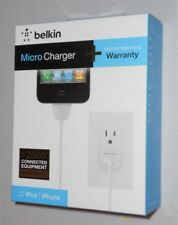 New Sealed Belkin Micro Charger for iPod iPhone 3 4