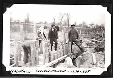 VINTAGE PHOTOGRAPH 1934 BITUMINOUS MACADAM RD. SHELTON MONROE CONNECTICUT PHOTO