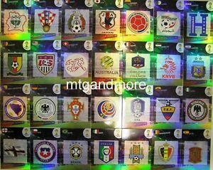 Adrenalyn XL - Team Logo / Wappen aussuchen - FIFA World Cup Brazil 2014 WM