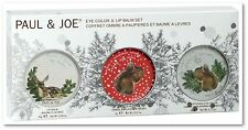 PAUL & JOE - WINTER WONDERLAND LIMITED COLLECTION - EYE COLOR AND LIP BALM SET