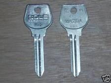 Mazda Key Blank (1) MZ5 R100 R200 Pickup 1974-82 X5