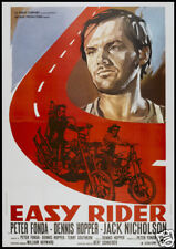 Easy rider Jack Nicholson cult biker movie poster print #2