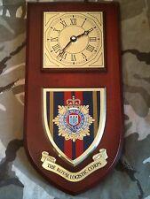 RLC Royal Logistic Corps Regimental Military Wall Plaque & Clock