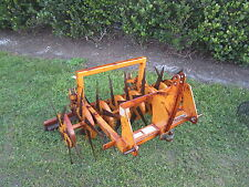 SISIS MultiSlit 1500 Deep Tine Slitter Lawn Aerator 3 pt Hitch 18-25 hp Tractor