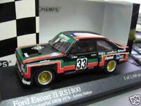 FORD Escort MKII RS1800 Gr.5 DRM Hahne Zakspeed 1976 #33 Minichamps RAR 1:43