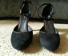 Dkny Black Suede Shoes *Gently Worn* FREE Shipping