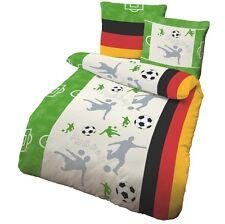 Bettwäsche 135x200 Cm Fussball Deutschland Baumwolle