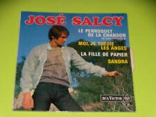 45  tours EP -  JOSE SALCY - LE PERROQUET DE LA CHANSON - 1963 - LANGUETTE