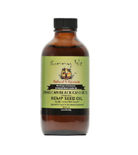 Sunny Isle™ Jamaican Organic Hemp Seed Oil for Hair Growth Skin Cold Pressed