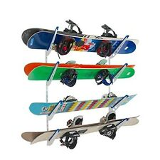Metal Snowboard Storage Rack | Adjustable Home Wall Mount | StoreYourBoard | NEW